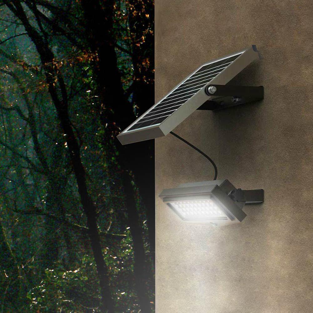 Lampe Lumiere Solaire Led 1000 Lumens Exterieur Flood Lampade Da Parete Lampade Luci Solari