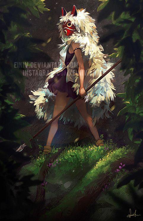 San: Princess Mononoke from einiv