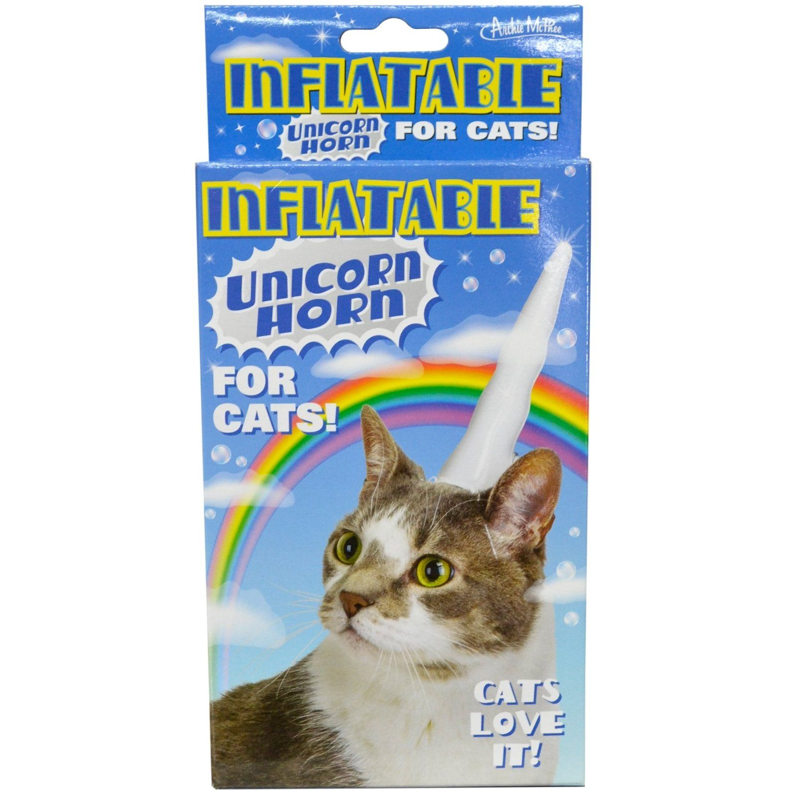Amazon Inflatable Unicorn Horn For Cats