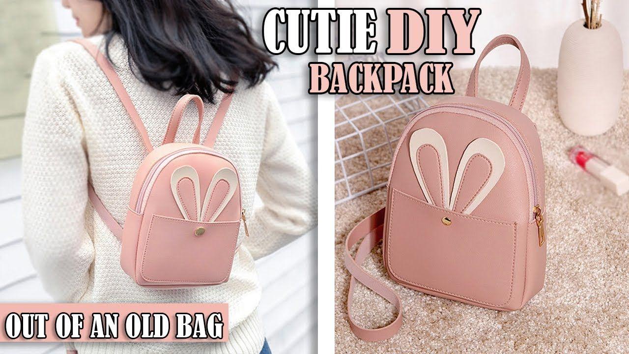 Diy Fantastic Backpack Idea Purse Bag Tutorial Mini Backpack