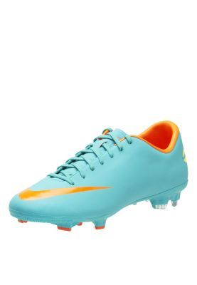 Nike Soccer Shoe With Soft And Supple Synthetic Leather Upper, Contoured  Sockliner with Textile Top