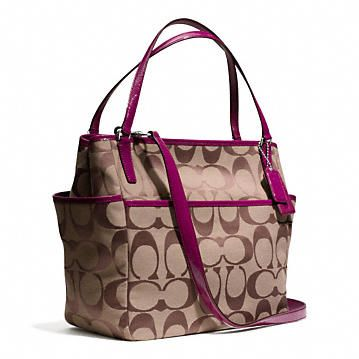 002fd4468e Coach    BABY BAG TOTE IN SIGNATURE C FABRIC