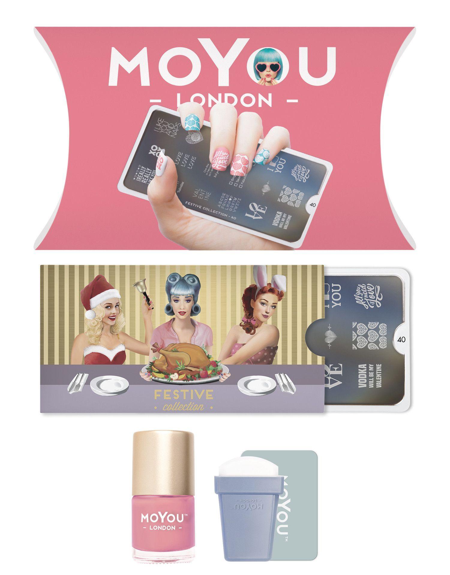 MoYou-London - Festive Stamping Kit
