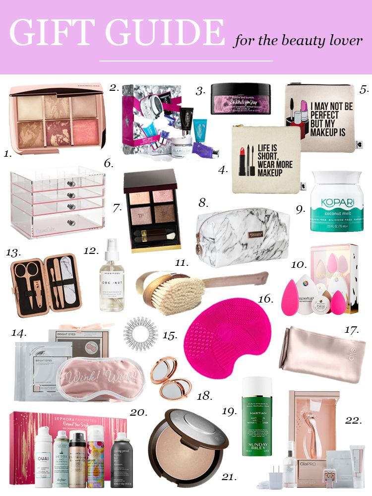 22 Beauty Gift Ideas Holiday Gift Guide Visions Of Vogue Gifts For Teens Beauty Products Gifts Teenage Girl Gifts