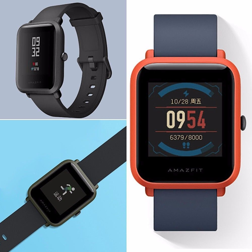 Xiaomi Huami Amazfit Bip Bit Pace Lite Youth Smart Watch Mi Fit Ip68 1 28 Gps