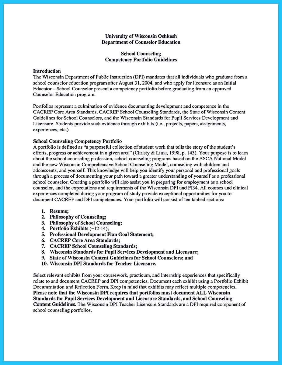 cool outstanding counseling resume examples to get