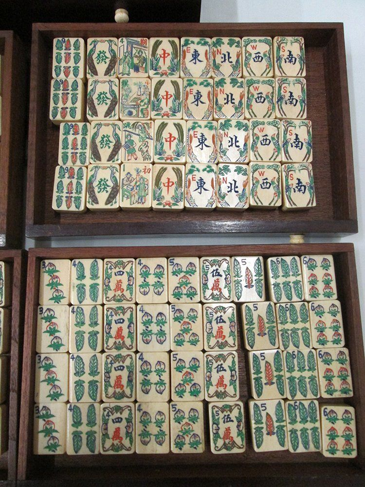 Pin by Zi Quan on Mahjong Mahjong set, Mahjong tiles