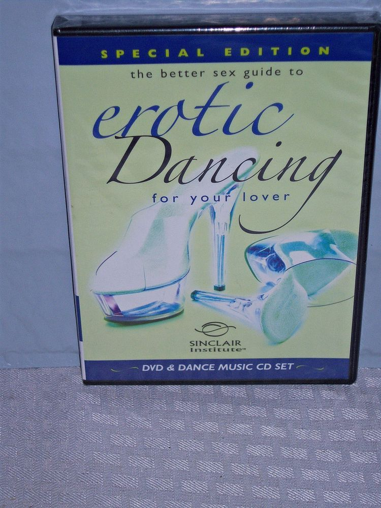 DVD Erotic Dancing For Your Lover-Sinclair Institute Intimacy Educational NC -17