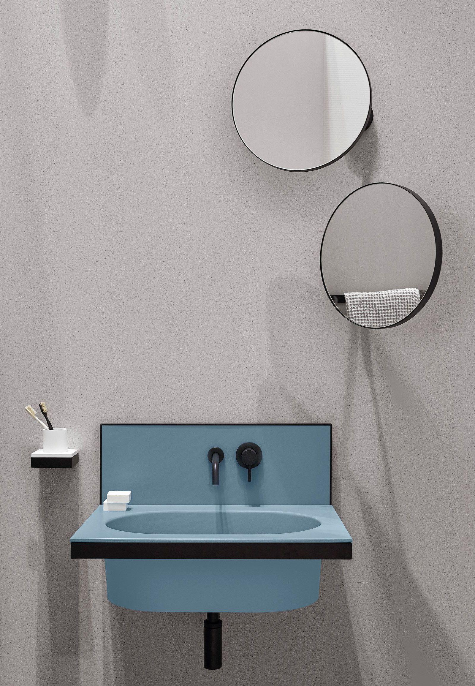 Elle Oval Single Wall Mounted Ceramic Washbasin Mit Bildern