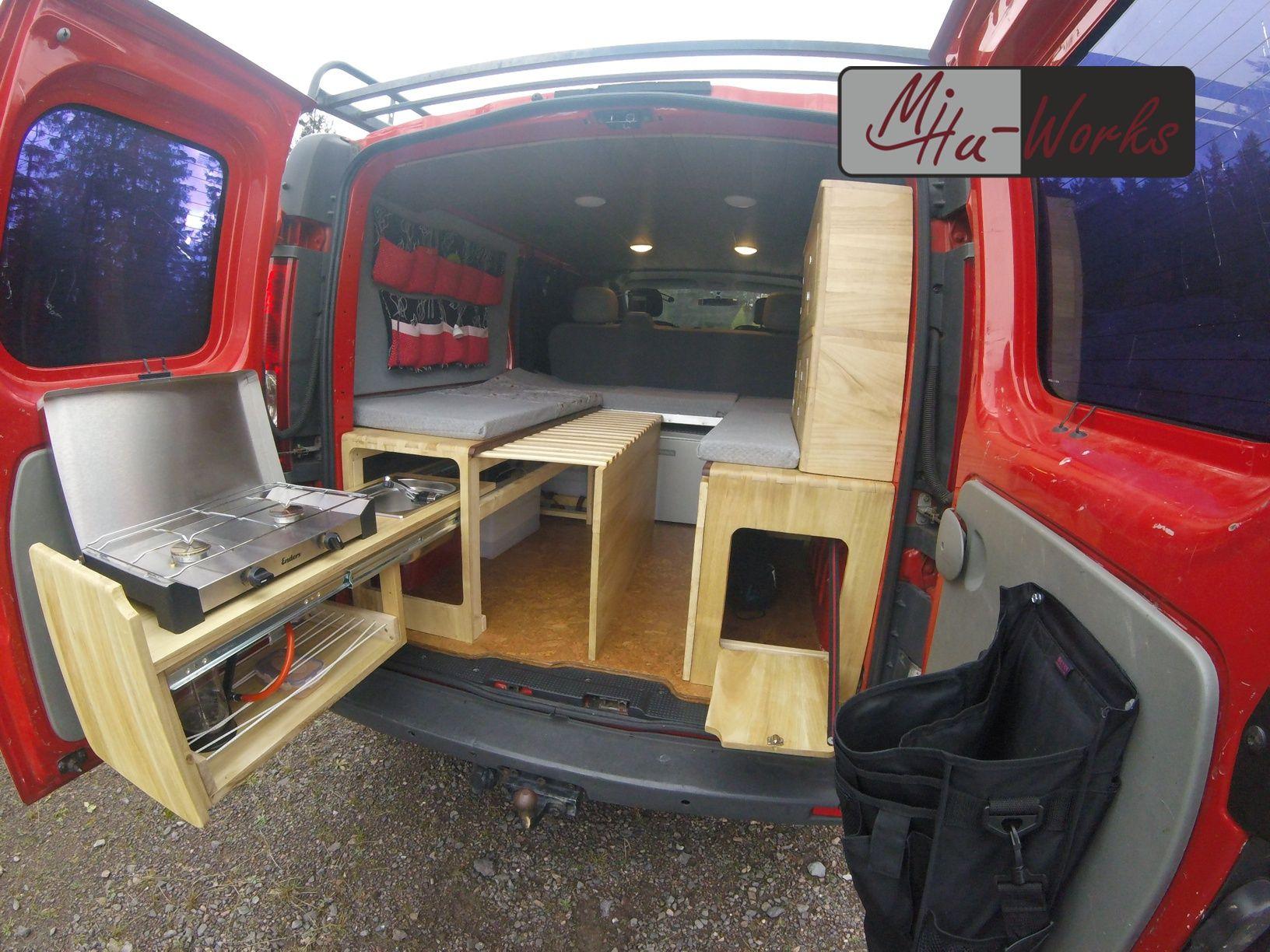 DIY Camper Ausbau – Opel Vivaro – MiHu-Works  Camping ausbau