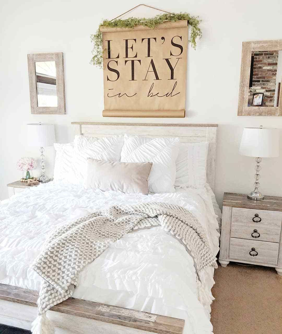 You Don T Have To Tell Us Twice We Never Wanted To Leave In The First Place Bedroom Design Bedroom Furniture Farm Bedroom