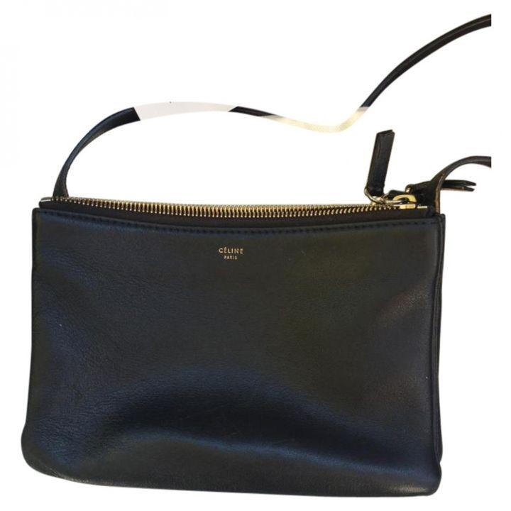 CELINE Trio leather clutch - $797.33