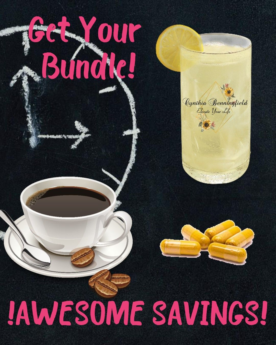 Save 30! Get the happiest coffee, happiest lemonade and