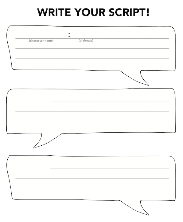 Great templates for script writing | Classroom Ideas ...