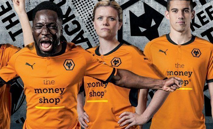 f91c46360ad Wolverhampton Wanderers FC 2017/18 PUMA Home Kit   Soccer Jerseys ...