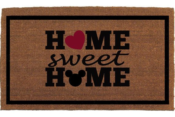 Incroyable The Perfect Disney Door Mats For Your Disney House