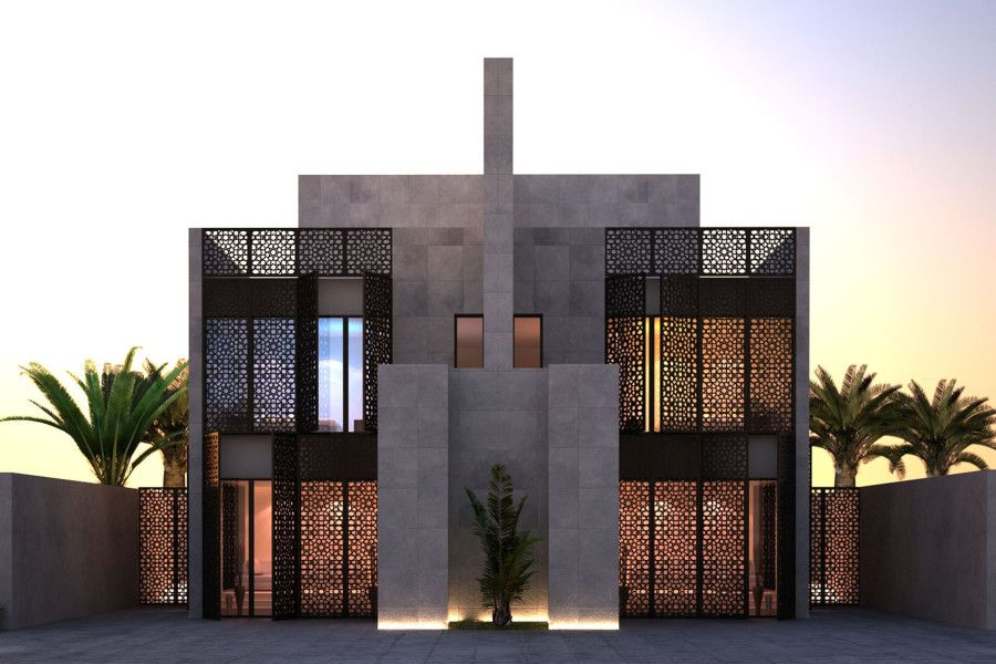 Top interior design architecture jeddah housing complex for Designhotel 21