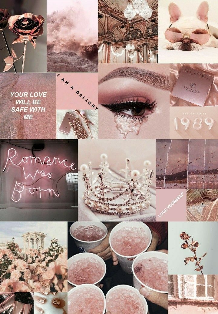Rich Girls Heart Slow Updating Characters Rose Gold Wallpaper Iphone Rose Gold Aesthetic Rose Gold Wallpaper