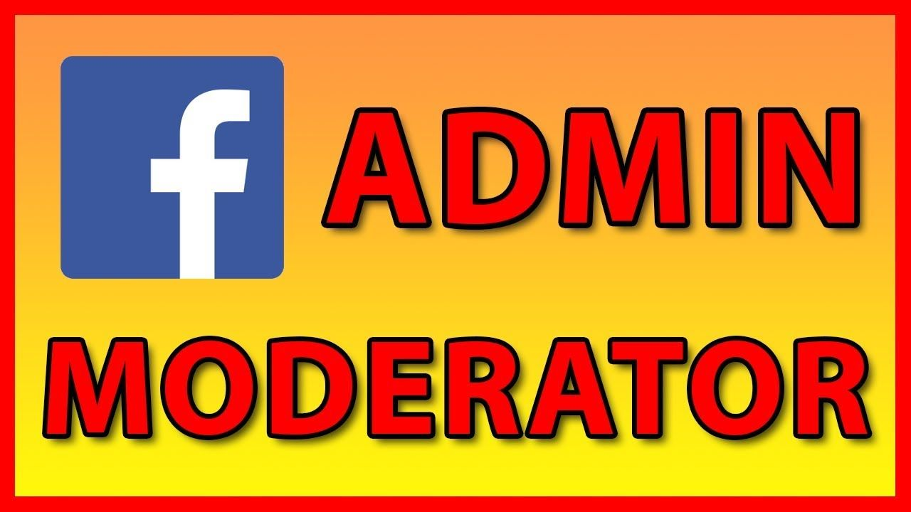 How to add a new Admin / Moderator to a Facebook Page or ...