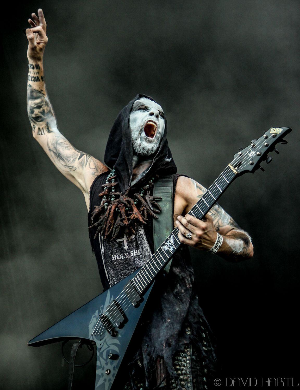 Nergal fra bandet Behemoth Black Metal i 2019-3637