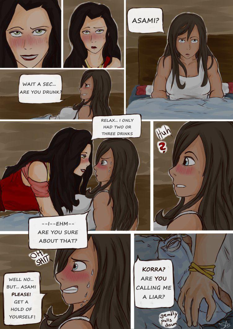 Korrasami Part 2 By Swiftwingoc95 Korrasami Lesbian Comic