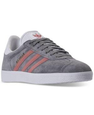 Le scarpe da ginnastica adidas gazzella casuale dal traguardo gray
