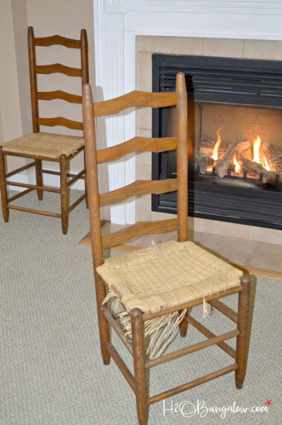 Easy DIY Tutorial On How To Recover Wood Chair Seats Chairs