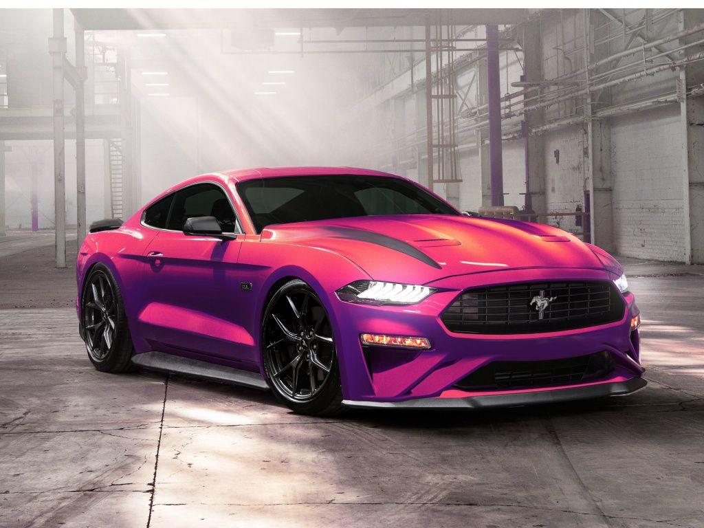 Desktop Wallpaper Ford Mustang Ecoboost Muscle Car 2019 Hd