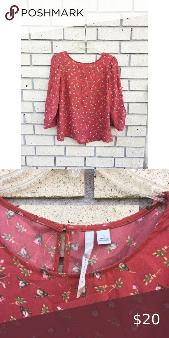 Lc Lauren Conrad Blouse Casual Outfits