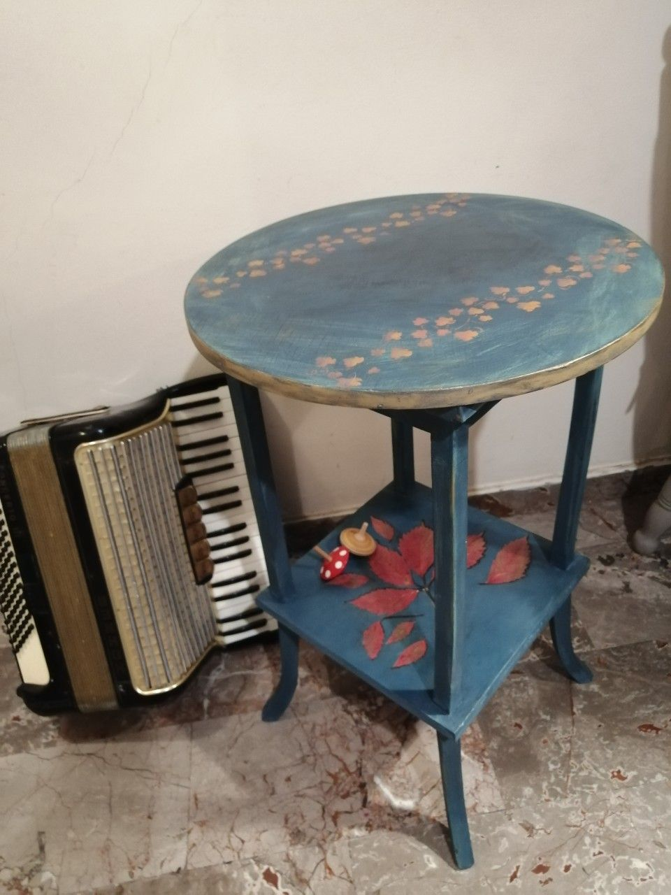 An Original Athenian Plant Stand Coffee Table From The 50s