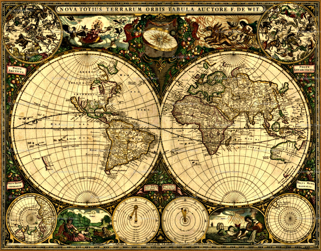 Old world pirate maps google search round maps double globes old world pirate maps google search gumiabroncs Image collections