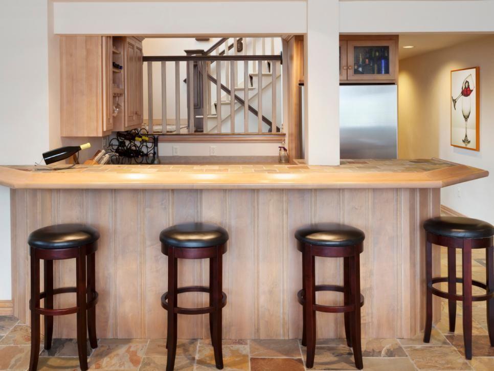 Home Bar Ideas 89 Design Options Bonus rooms and Basements