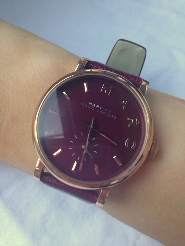 Marc By Marc Jacobs Rose Gold Watch (With images) Arm