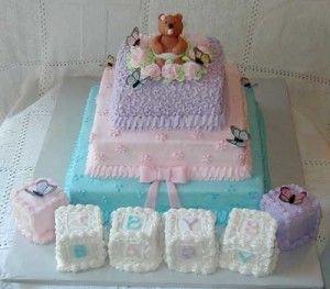Ideas De Pasteles Para Baby Shower Niña 2