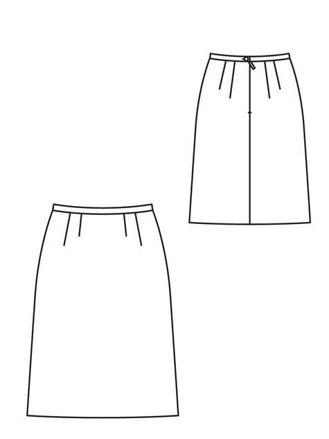 Darted Skirt 12/2012 #108 | Pinterest