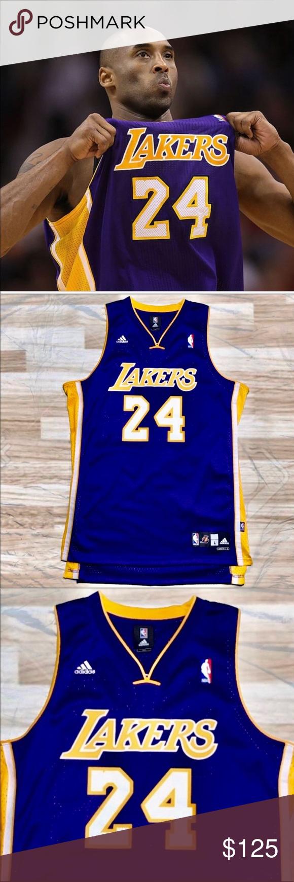 Adidas Los Angeles Lakers #24 Kobe Bryant Jersey   Adidas los ...