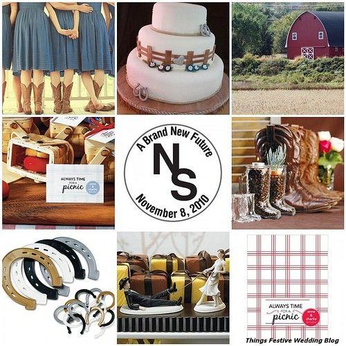 Cowgirl Wedding Ideas: Western Style Buckle Belts