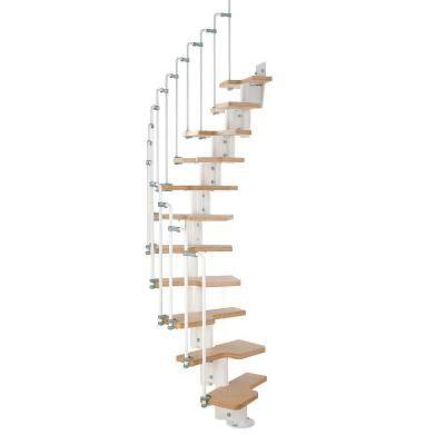 High Quality Arke Karina White Modular Staircase Kit