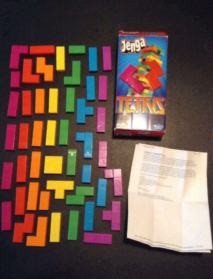Jenga Tetris 47 Pc Online Printed Instructions Toys Games Puzzles