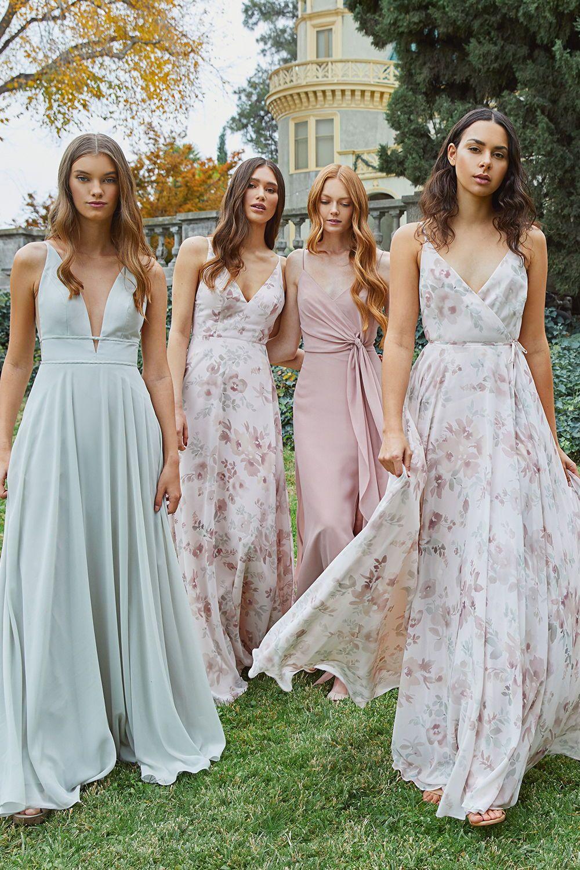 Spring Summer 2020 Bridesmaids Spring Bridesmaid Dresses Printed Bridesmaid Dresses Floral Bridesmaid Dresses [ 1500 x 1000 Pixel ]