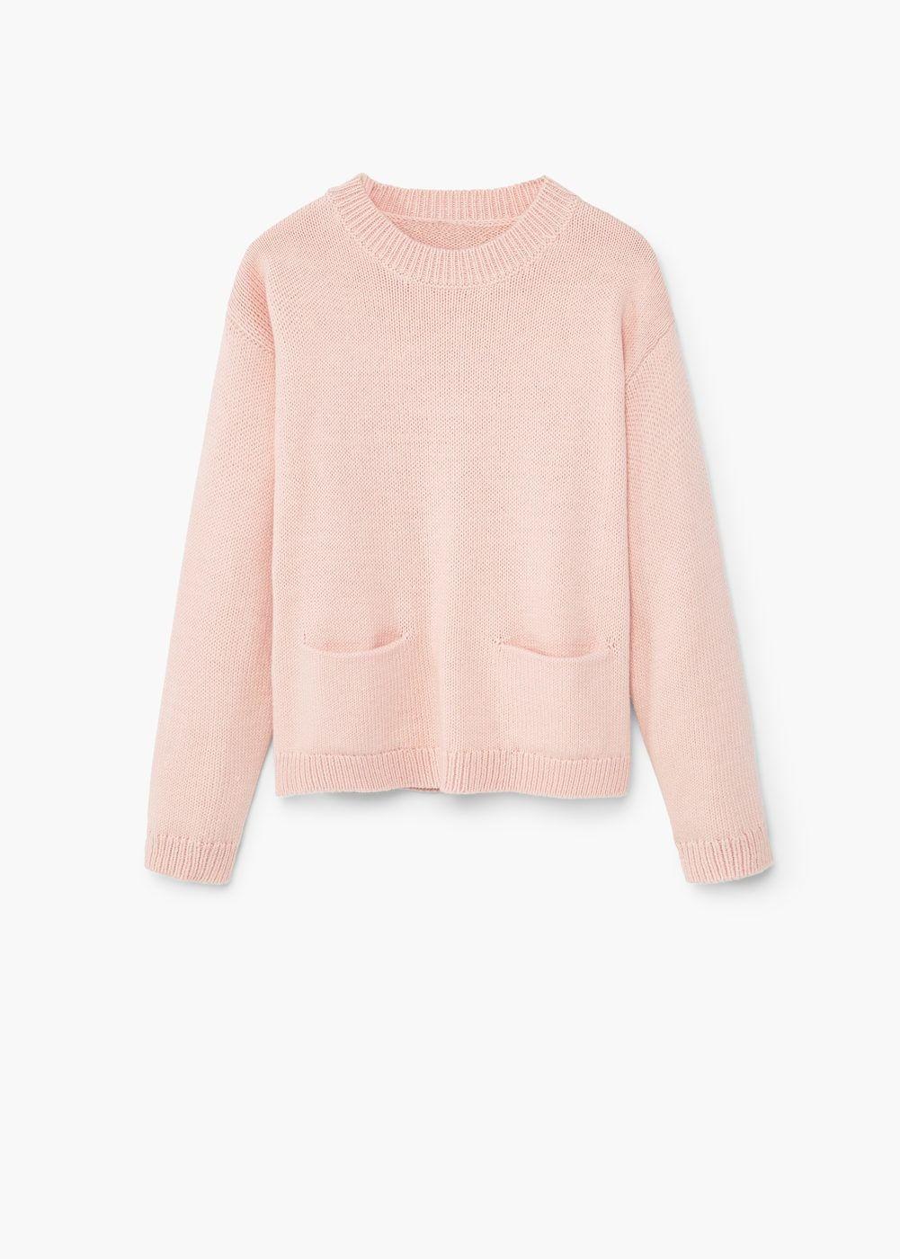 Pull-over coton poche | MANGO KIDS