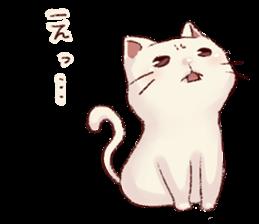 frown cat - LINE Stickers de los Creators