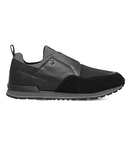 Latest Tods Grey Active Suede Running Trainers for Men Sale Online