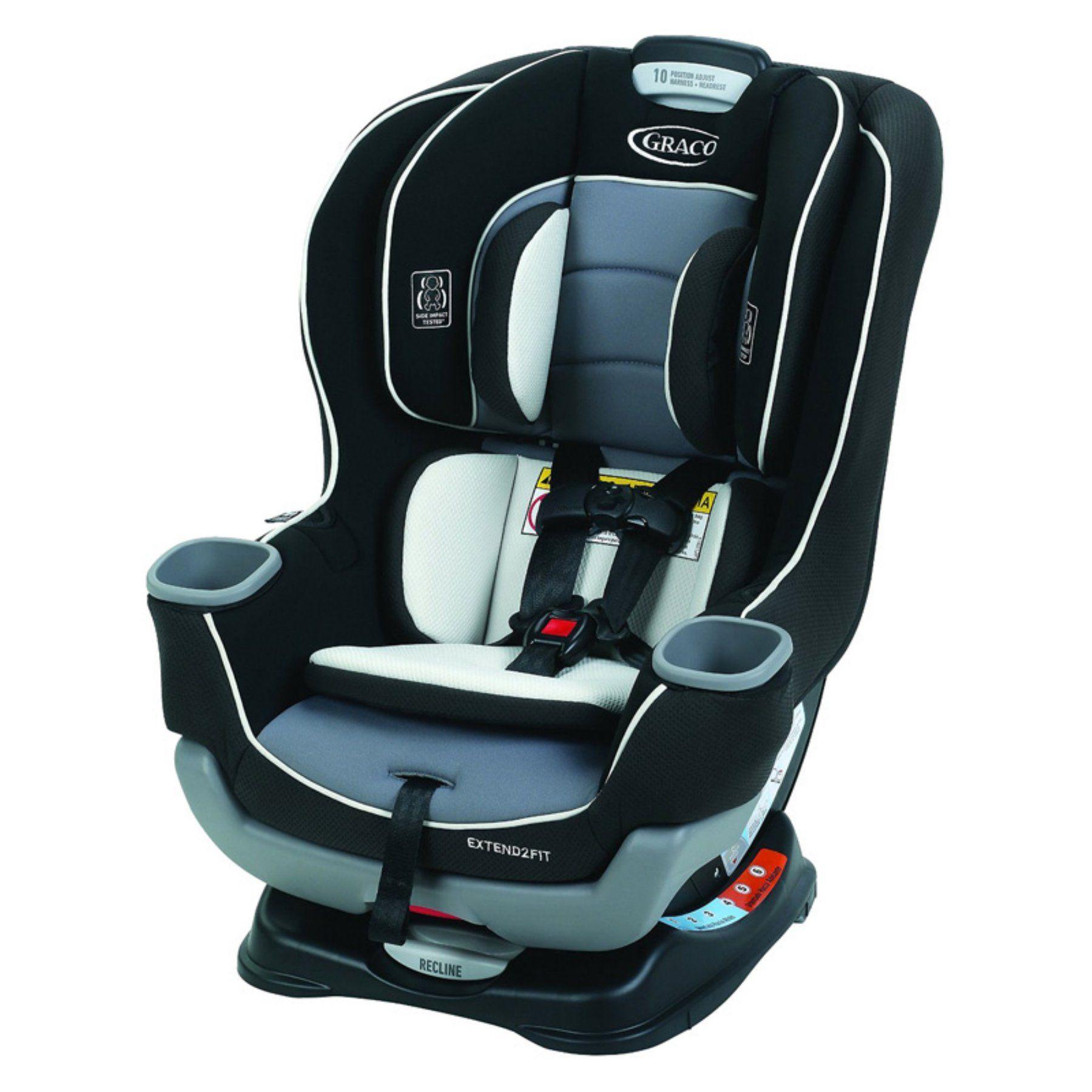 Graco extend2fit convertible car seat gotham 1963212