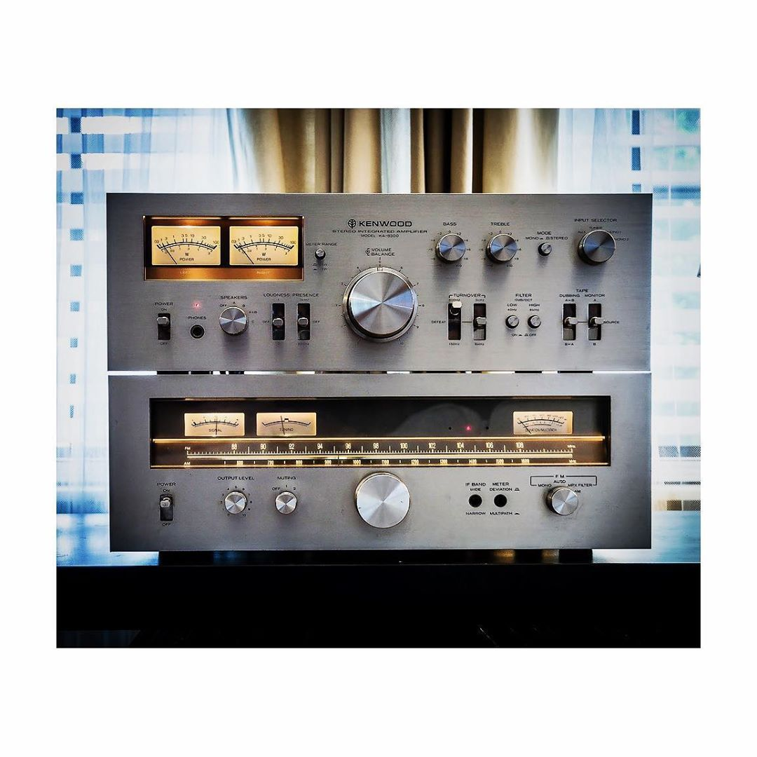 Kenwood KA-8300, 1975 . . . . #vintagekenwood #kenwood #kenwoodaudio #recordcrate #minimalism #recordcollector #vinyladdict #record…