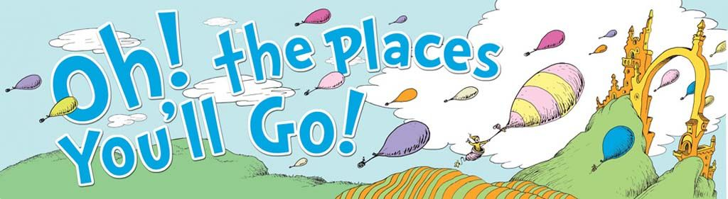 dr seuss the places you ll go dr seuss week oh the places you rh pinterest com OH the Places You'll Go Background OH the Places You'll Go Printables