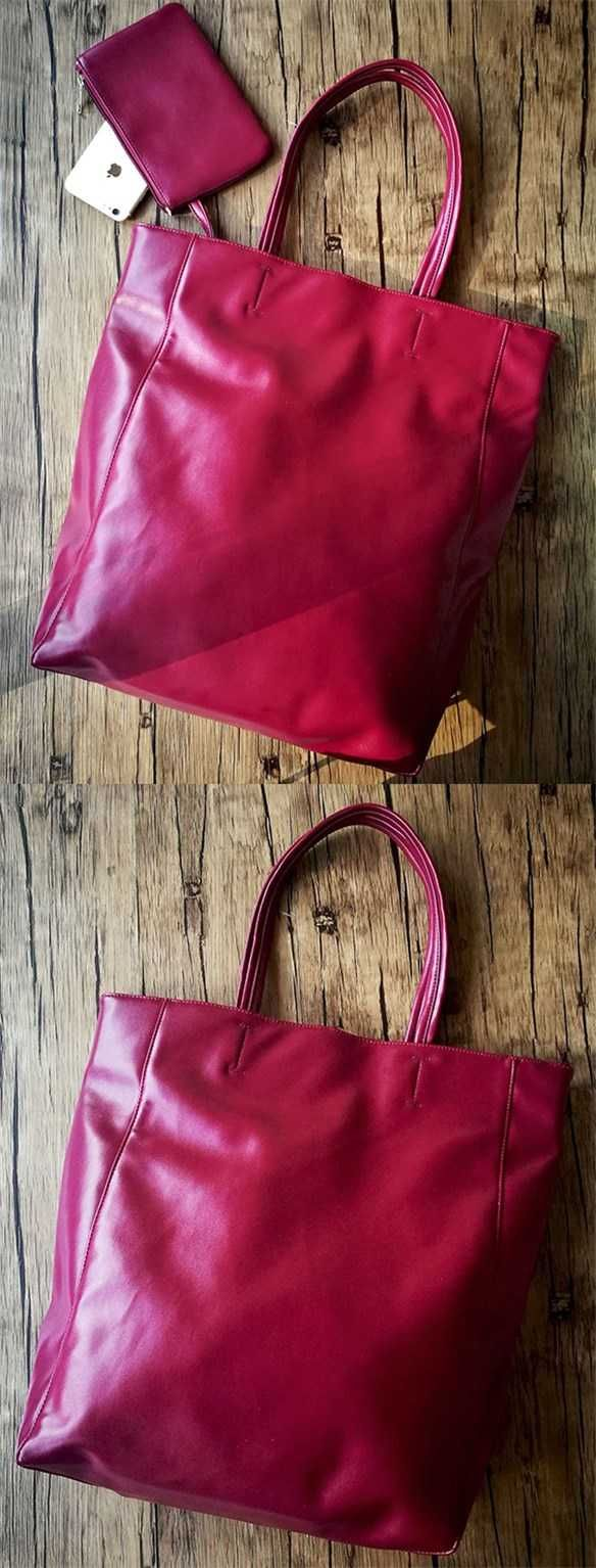 burgundy tote bag leather tote with pockets fashion purses and handbags.  Save.extra 15% OFF On All Bags till 30th by code BAG15OFF 137e6f9d2b390