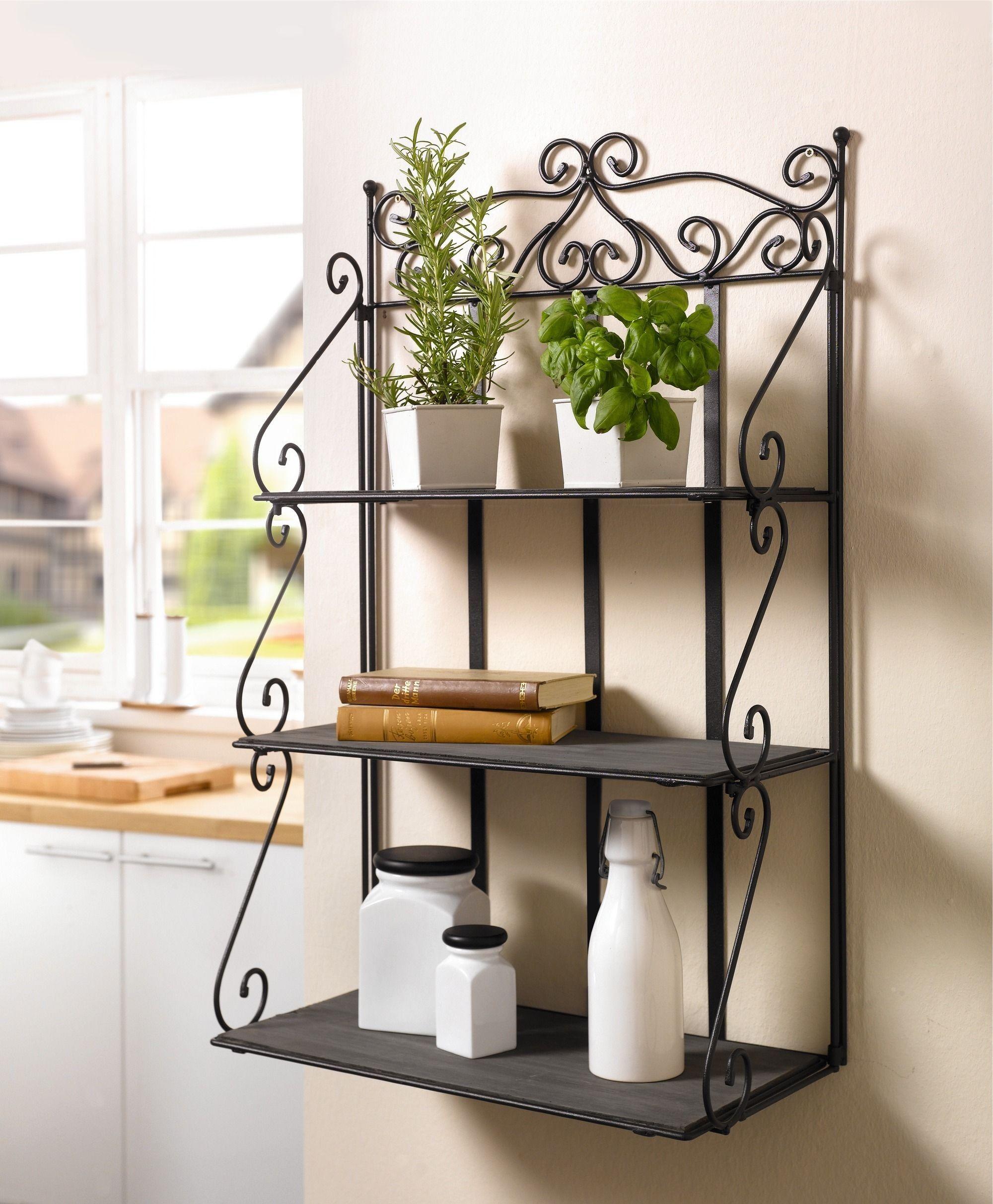 hangeregal metall kuche wandregal metall kche genial. Black Bedroom Furniture Sets. Home Design Ideas