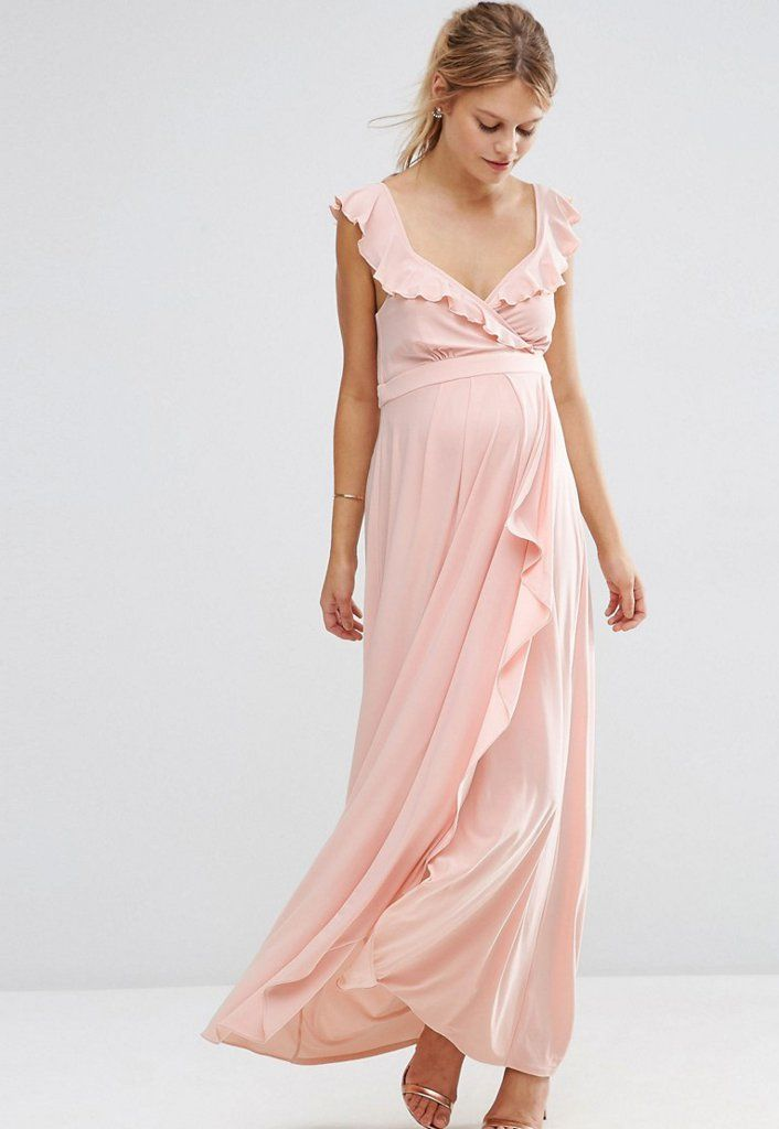 65b827f6d1c 14 Maternity Dresses to Wear to All Your Summer Weddings