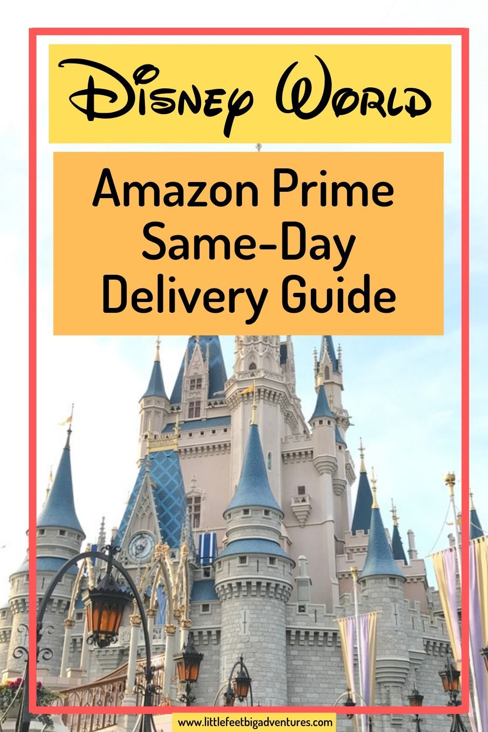Amazon Prime One Day Delivery Now Available At Disney World Disney World Trip Disney World Walt Disney World Vacations